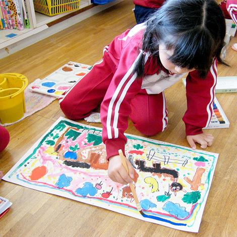 1月絵画教室